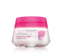 OPTIMALS Oxygen Boost Night Cream Dry/Sensitive Skin