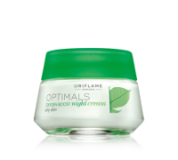 OPTIMALS Oxygen Boost Night Cream Oily Skin