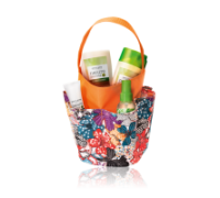 NATURE SECRETS Flowery Bathroom Caddy