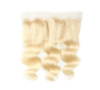 Blond closure 13x4